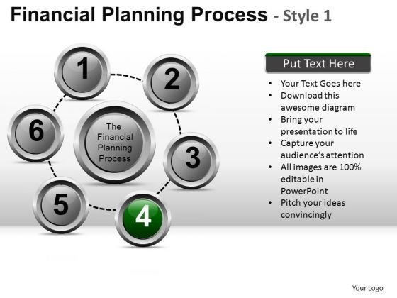 PowerPoint Presentation Business Strategy Financial Planning Process Ppt Slides