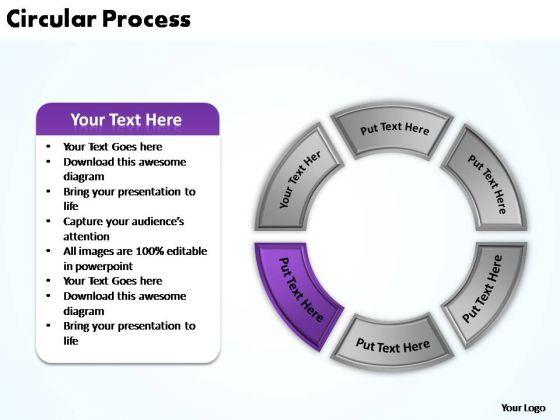 PowerPoint Presentation Chart Circular Process Ppt Backgrounds