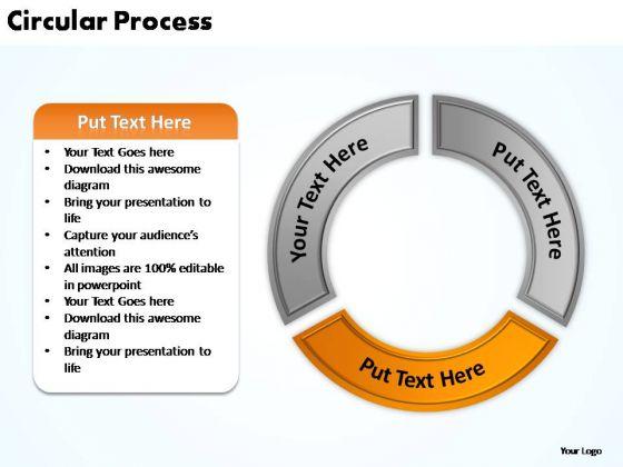 PowerPoint Presentation Chart Circular Process Ppt Design