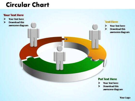 PowerPoint Presentation Company Circular Ppt Process