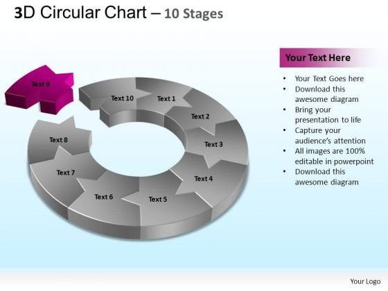 PowerPoint Presentation Company Circular Ppt Template