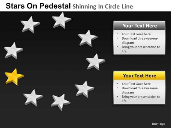 PowerPoint Presentation Company Pedestal Shinning Ppt Presentation