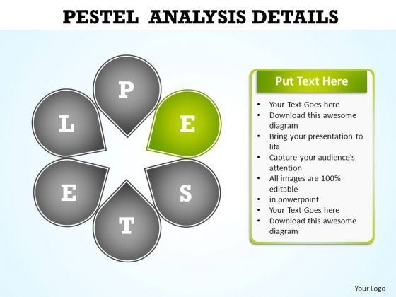 Powerpoint Presentation Company Pestel Analysis Ppt Template