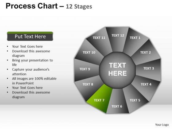 PowerPoint Presentation Company Process Chart Ppt Process