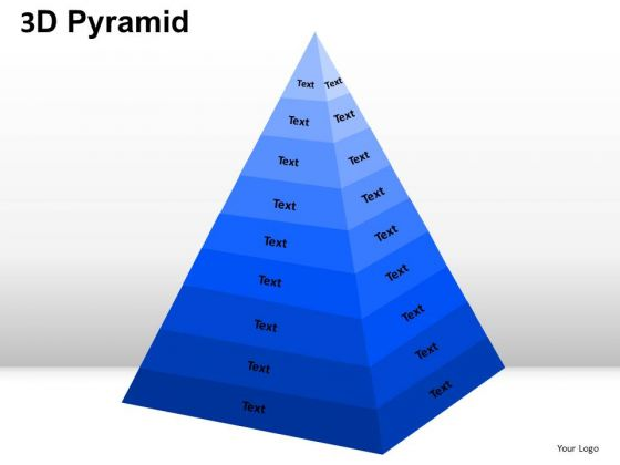 PowerPoint Presentation Company Pyramid Ppt Backgrounds