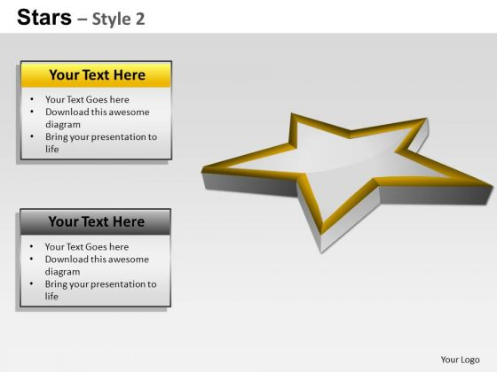 PowerPoint Presentation Company Stars Ppt Slide Designs