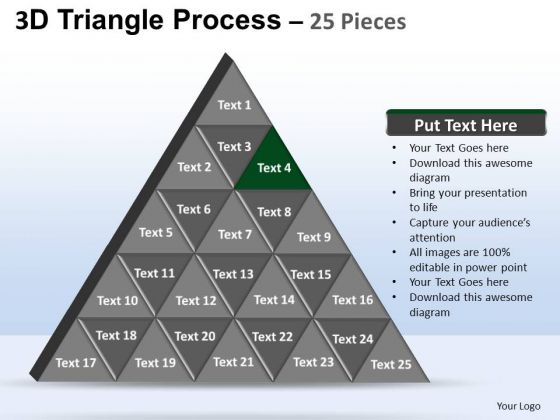 PowerPoint Presentation Company Triangle Process Ppt Slides