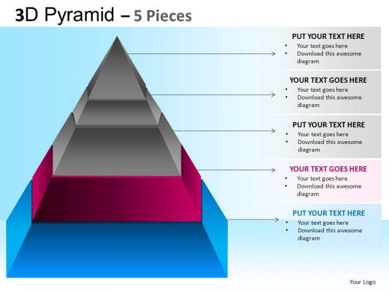 PowerPoint Presentation Corporate Competition Pyramid Ppt Slide Designs
