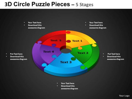 PowerPoint Presentation Cycle Chart Circle Puzzle Diagram Ppt Presentation