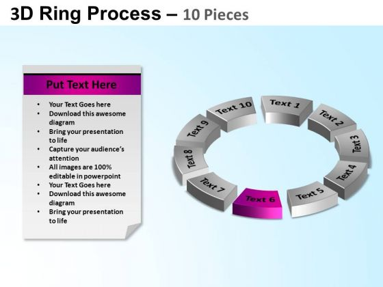 PowerPoint Presentation Cycle Process Ring Process Ppt Template
