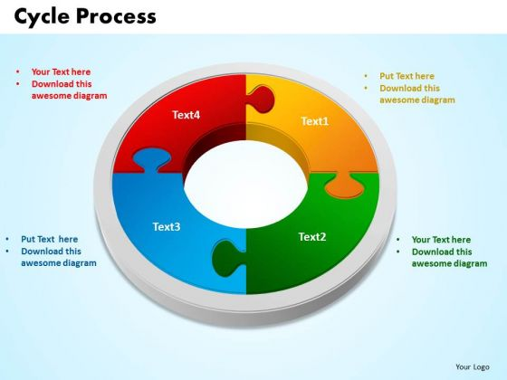 PowerPoint Presentation Cycle Process Success Ppt Slides