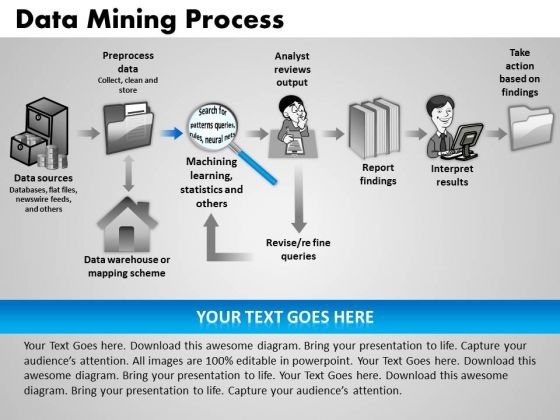 PowerPoint Presentation Data Mining Process Leadership Ppt Layouts