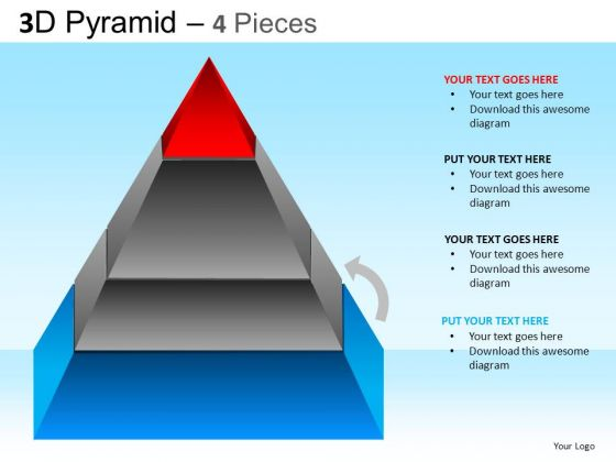 PowerPoint Presentation Designs Business Success Pyramid Ppt Slides