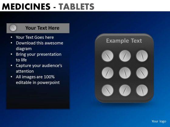 PowerPoint Presentation Designs Business Teamwork Medicine Tablets Ppt Backgrounds