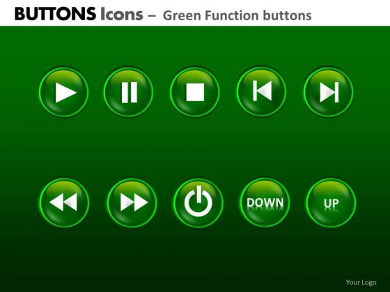 PowerPoint Presentation Designs Company Growth Buttons Icons Ppt Layout