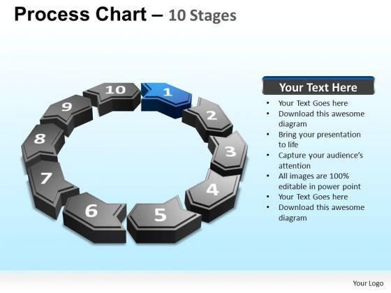 PowerPoint Presentation Designs Company Process Chart Ppt Slides