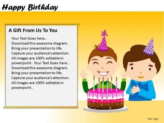 PowerPoint Presentation Designs Corporate Strategy Happy Birthday Ppt Slidelayout