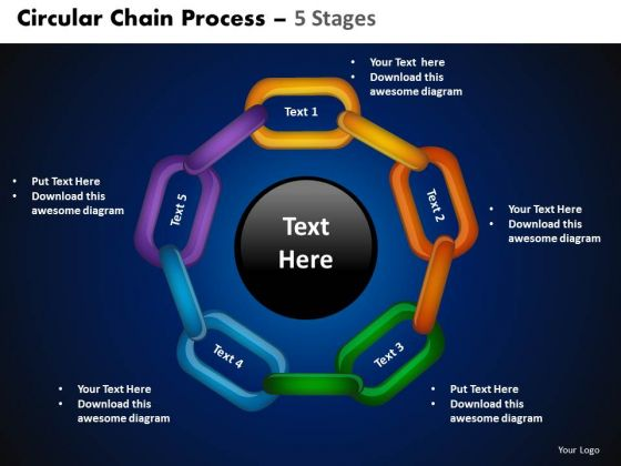 PowerPoint Presentation Designs Cycle Chart Circular Chain Ppt Theme