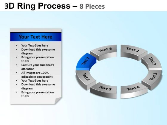 PowerPoint Presentation Designs Cycle Process Ring Process Ppt Template