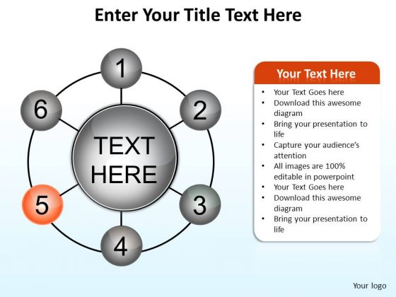 PowerPoint Presentation Designs Diagram Enter Your Title Ppt Template