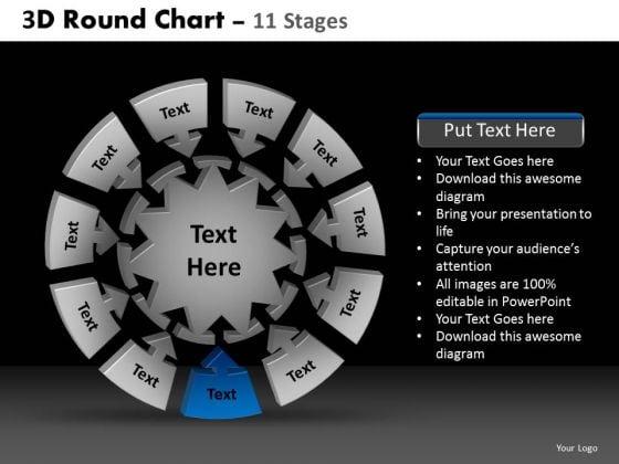 PowerPoint Presentation Designs Diagram Round Chart Ppt Layouts