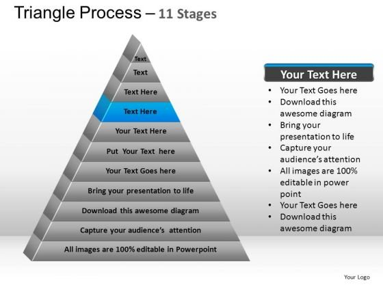 PowerPoint Presentation Designs Diagram Triangle Process Ppt Design