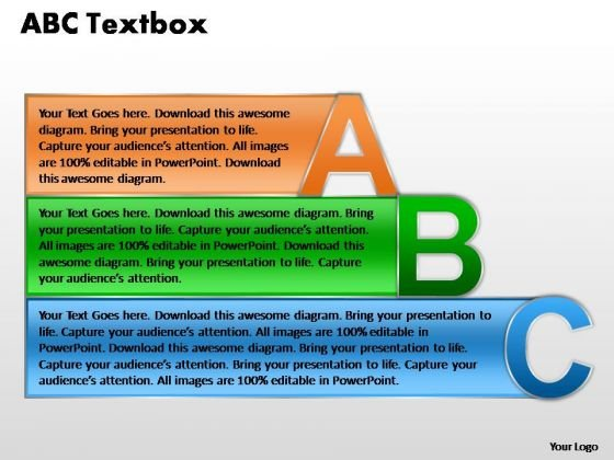 PowerPoint Presentation Designs Download Abc Textbox Ppt Slide