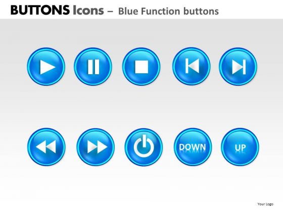 PowerPoint Presentation Designs Download Buttons Icons Ppt Layout