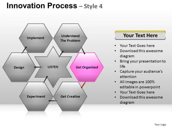PowerPoint Presentation Designs Download Hexagon Chart Ppt Theme