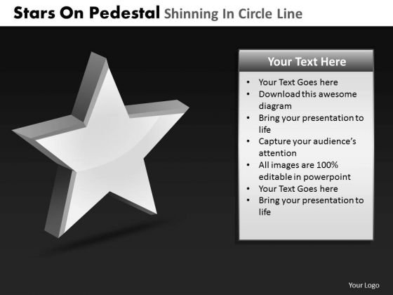 PowerPoint Presentation Designs Download Pedestal Shinning Ppt Process