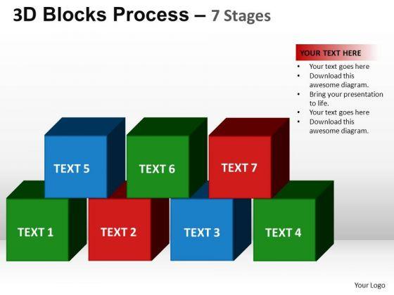 PowerPoint Presentation Designs Editable Blocks Process Ppt Theme