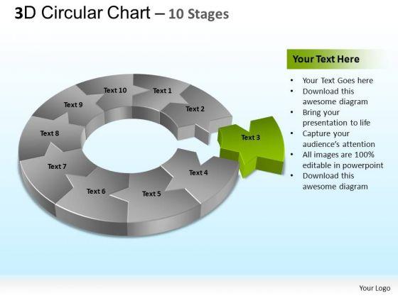 PowerPoint Presentation Designs Editable Circular Ppt Template