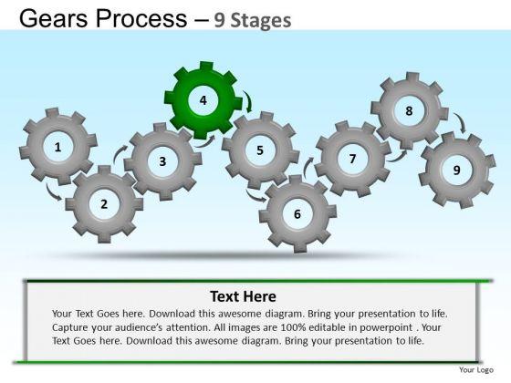 PowerPoint Presentation Designs Education Gears Ppt Theme