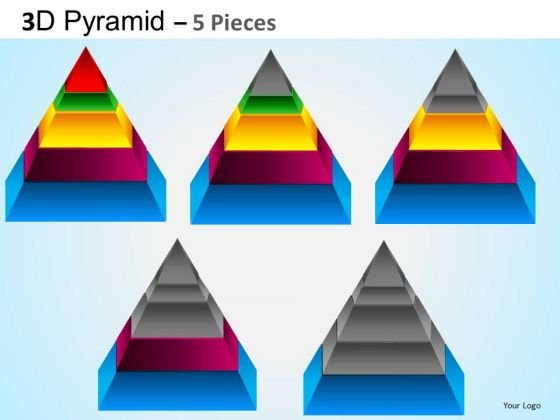 PowerPoint Presentation Designs Executive Competition Pyramid Ppt Templates