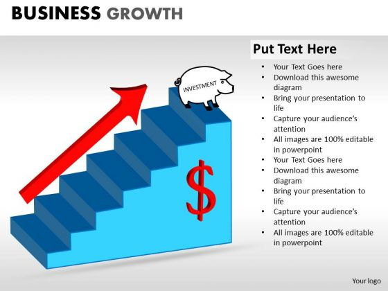 PowerPoint Presentation Designs Global Business Growth Ppt Templates