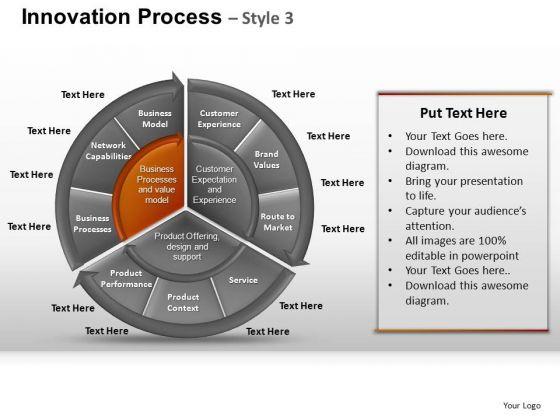 PowerPoint Presentation Designs Graphic Pie Chart Ppt Template