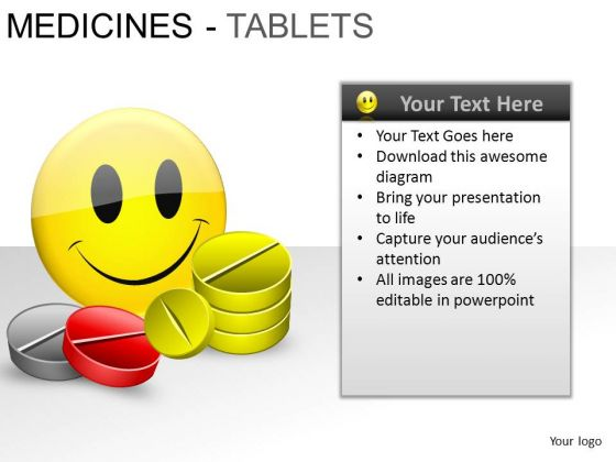 PowerPoint Presentation Designs Growth Medicine Tablets Ppt Layouts