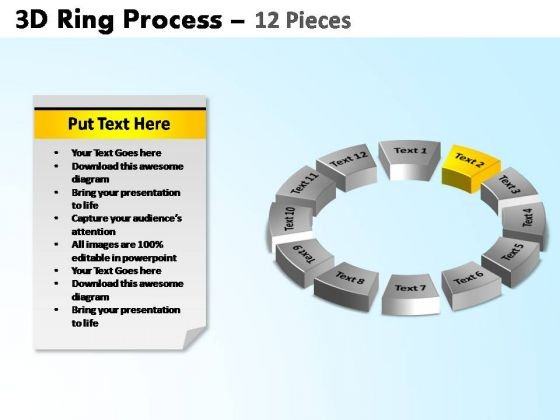 PowerPoint Presentation Designs Growth Ring Process Ppt Theme