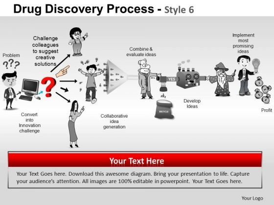 PowerPoint Presentation Designs Image Drug Discovery Ppt Theme