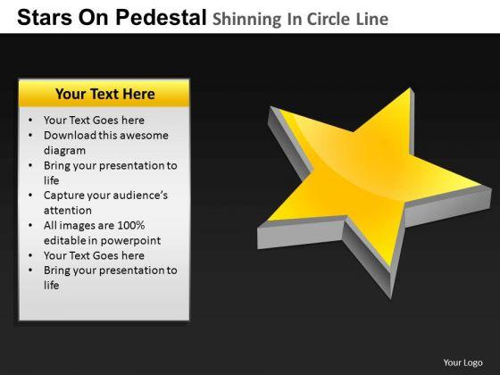PowerPoint Presentation Designs Image Pedestal Shinning Ppt Slidelayout