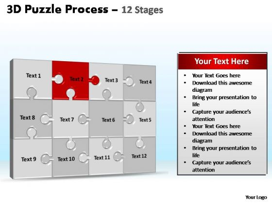 PowerPoint Presentation Designs Image Puzzle Process Ppt Slides