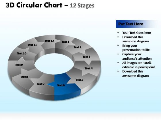 PowerPoint Presentation Designs Leadership Circular Ppt Template