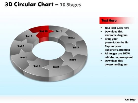 PowerPoint Presentation Designs Leadership Circular Ppt Theme