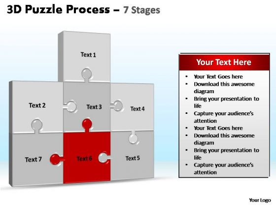 PowerPoint Presentation Designs Leadership Puzzle Process Ppt Design