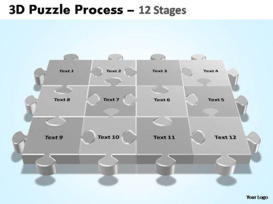 PowerPoint Presentation Designs Leadership Puzzle Process Ppt Slide Designs