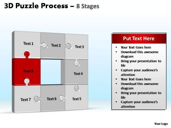 PowerPoint Presentation Designs Leadership Puzzle Process Ppt Themes