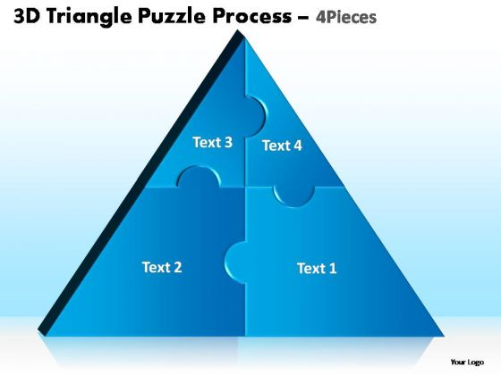 PowerPoint Presentation Designs Leadership Triangle Puzzle Ppt Themes