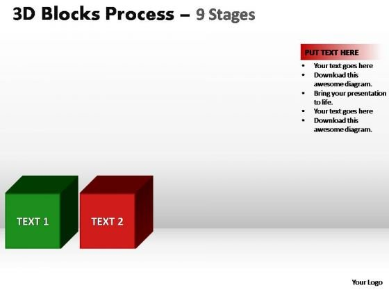 PowerPoint Presentation Designs Marketing Blocks Process Ppt Design Slides