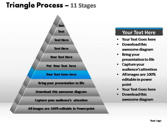 PowerPoint Presentation Designs Marketing Triangle Process Ppt Themes