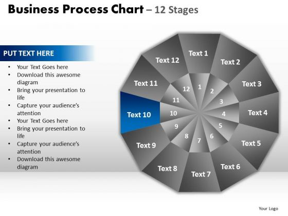 PowerPoint Presentation Designs Process Circular Quadrant Ppt Theme